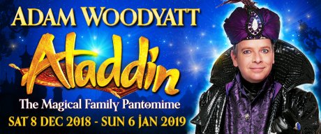 Aladdin panto at the Wyvern, Swindon