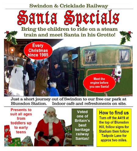 Swindon & Cricklade Santa Specials
