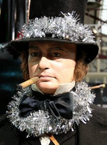 Brunel getting in the Christmas spirit at Swindon's Steam Railway Museum