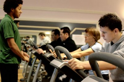 Expert training and advice from the staff at the Oasis Leisure Centre gym in Swindon