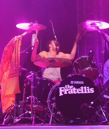 Fratellis play the Swindon Oasis