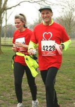 British Heart Foundation run at Lydiard Park in Swindon