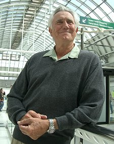 George Lazenby - in Swindon, 10 June 2005