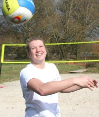 Lucy Boulton volleyball in Swindon