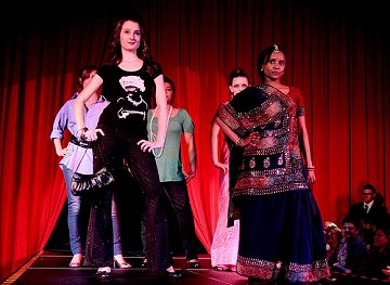 Fairtrade Fashion Show at St. Joseph's Catholic College in Swindon