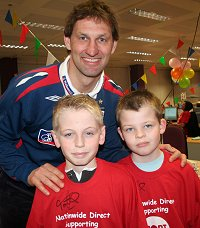 Tony Adams Sport Relief 2008 in Swindon