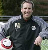 Paul Merson in Swindon