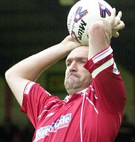 Neil 'Razor' Ruddock in Swindon
