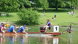 Dragon boat racing at the Corporate Games 2006
