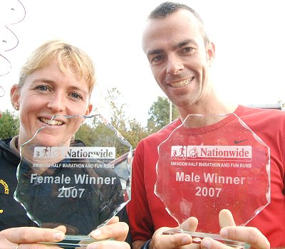 Winners of the Swindon Half Marathon 2007