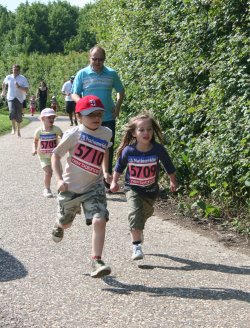 Fun Run at Coate Water in Swindon
