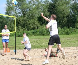 Beach Volleyball at Coate Water in Swindon