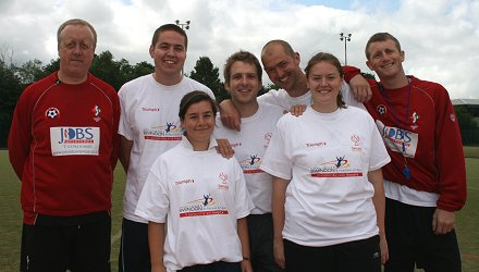 Parachallenge event in Swindon 2008