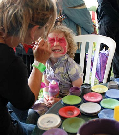 Face Painting in Swindon