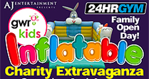 Inflatable Extravaganza and Family Fun Day - Swindon