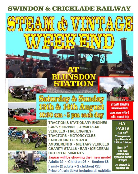 Steam & Vintage Weekend, Swindon