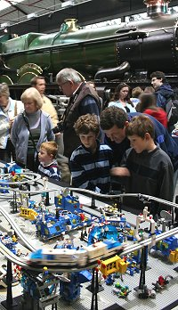 Great Western Lego Show 2008, STEAM museum Swindon