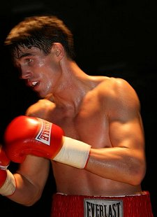 Swindon boxer Jamie Cox