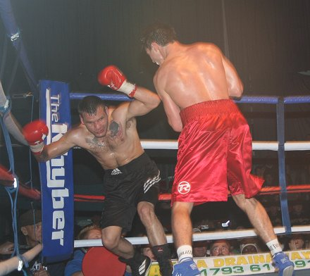 Swindon Boxing Night 18 Oct 2008 featuring Jamie Cox