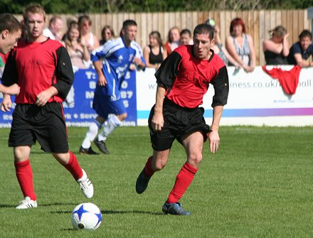 GWR V Hollyoaks in a charity football match at Swindon Supermarine