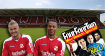 Meet Swindon Town players at Borders book store!