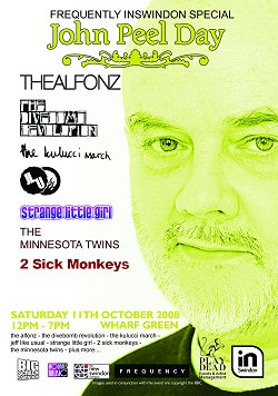 John Peel Day with Frequently inSwindon