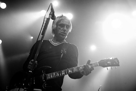 Paul Weller in Swindon at Oasis Gig
