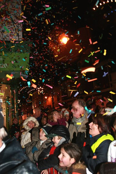 Old Town Lights Switch-on