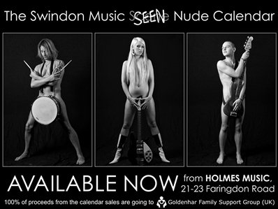 Swindon Music Seen Calendar 2009