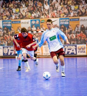 Futsal launch weekend in Swindon