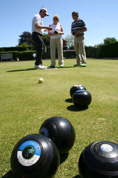 Highworth Bowls Club Open Day 2009