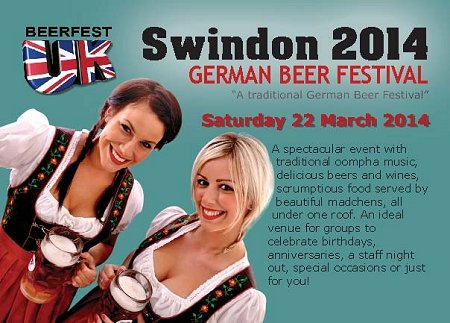 German Beer Festival MECA Swindon