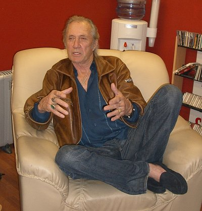 David Carradine in Swindon