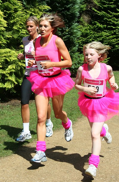 Swindon Race for Life, Lydiard Park 12 July 2009