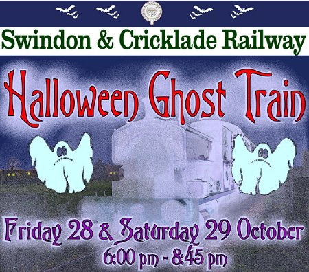 Ghost Train, Swindon & Cricklade Railway