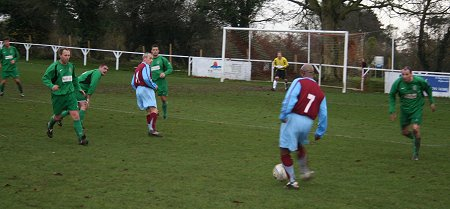 Highworth v Aston Villa 29 November 2009