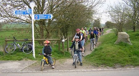 Family Cycling in Swindon