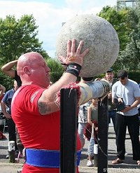 Ironworx strongman competition in Swindon