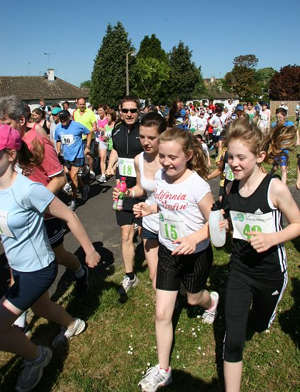 Chiseldon Fun Run 2010