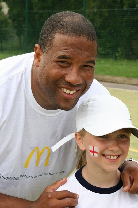 John Barnes in Swindon