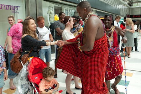 Maasai Tribe in Swindon