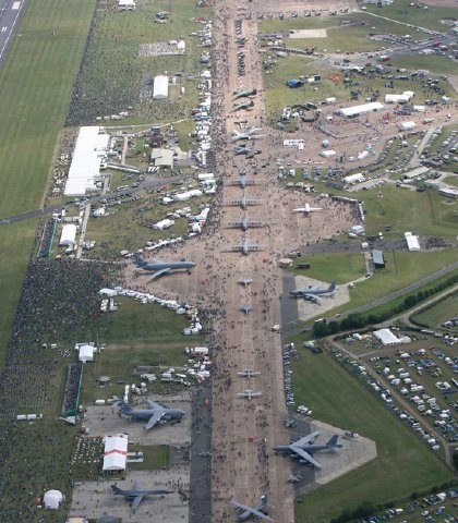 International Air Tattoo at RAF Fairford for a far more reasonable £18.