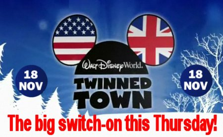 Walt Disney Swindon Christmas Lights