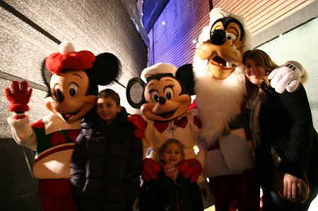 Walt Disney Lights up Swindon Town Centre