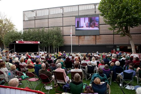Opera in Swindon town centre