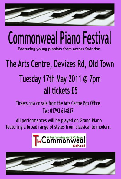 Commonweal School Piano Festival