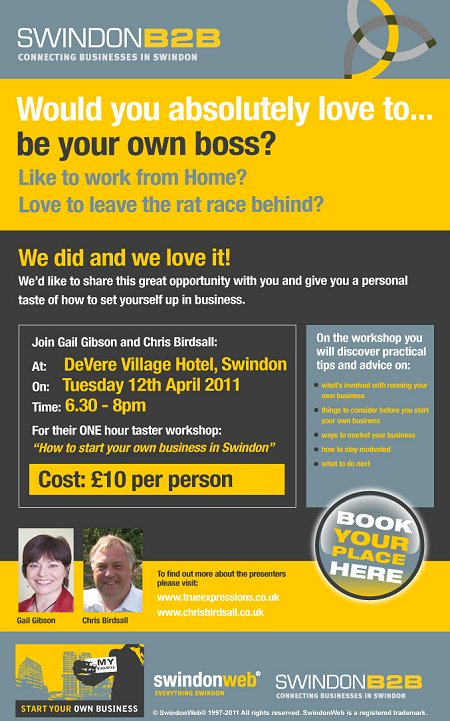 Start Your own Business in Swindon