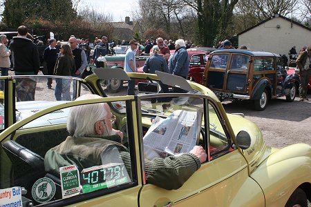 Drive It Day at The Royal Oak at Bishopstone
