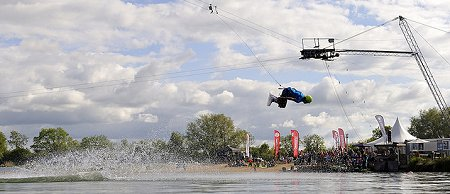 WMSki at Cotswold Water Park near Swindon