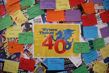 Wyvern Theatre Swindon's 40th birthday